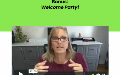 Bonus Welcome Party