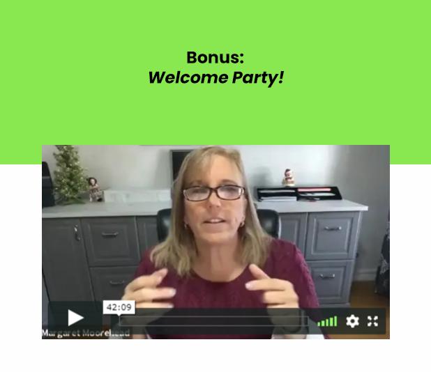 Bonus Welcome Party